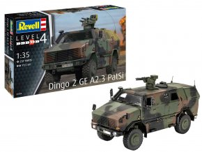 Revell - Dingo 2 GE A2.3 PatSi, Plastic ModelKit 03284, 1/35