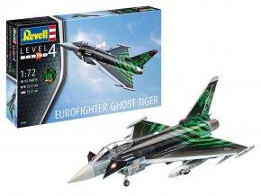 """Revell - Eurofighter Typhoon """"Ghost Tiger"""", ModelSet 63884, 1/72"""