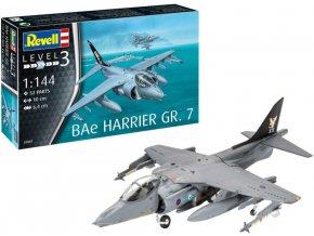 Revell - BAe Harrier GR.7, ModelSet 63887, 1/144