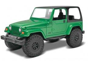 Revell - Jeep® Wrangler Rubicon, Snap Kit Build & Play MONOGRAM 1695, 1/25