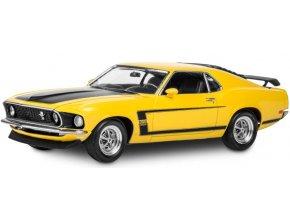 Revell - Boss 302 Mustang `69, Plastic ModelKit MONOGRAM 4313, 1/25