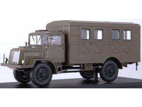 Start Scale Models - Tatra 128, vojenská skříňová, 1/43