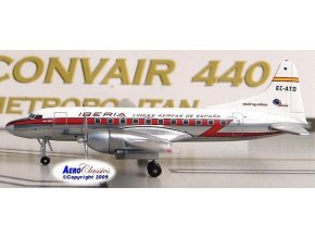 AeroClassic - Convair CV-440, dopravce Iberia, Španělsko, 1/400