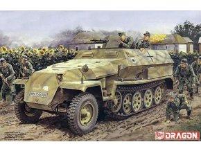 Dragon - Sd.Kfz.251 Ausf.C a 3.7cm PaK 35/36, Model Kit 7611, 1/72