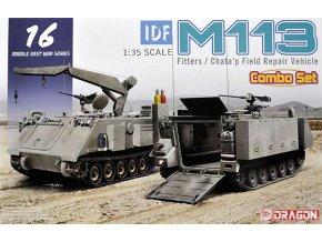 Dragon - M113 Fitters & Chata'p Field Repair Vehicle, IDF Izraelské obranné síly, Model Kit 3622, 1/35