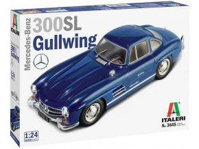 Italeri - Mercedes Benz 300 SL Gullwing, Model Kit 3645, 1/24