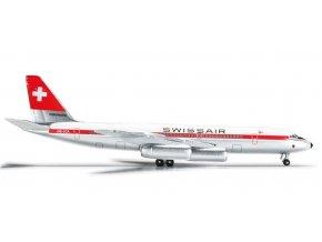 Herpa - Convair CV-990, dopravce Swissair, Švýcarsko, 1/500