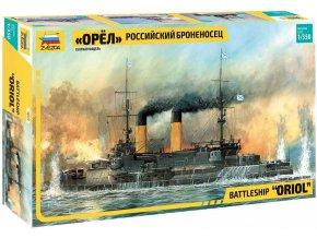 Zvezda - bitevní loď Oriol, Model Kit 9029, 1/350