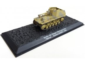 "DeAgostini - Sd.Kfz.124 Wespe, 5. SS-Panzer Division ""Wiking"", Charkov, SSSR, 1943, 1/72"