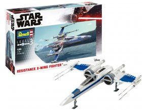 Revell - Star Wars - Resistance X-Wing Fighter, Model Set SW 66744, 1/50