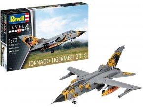 Revell - Panavia Tornado ECR, Luftwaffe, NATO Tiger Meet 2018, Poznan, Polsko, Plastic ModelKit 03880, 1/72