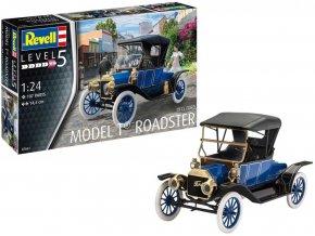 Revell - Ford T Modell Roadster 1913, Plastic ModelKit 07661, 1/24