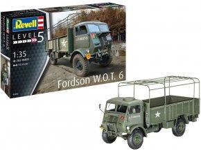 Revell - Fordson WOT 6, Plastic ModelKit 03282, 1/35
