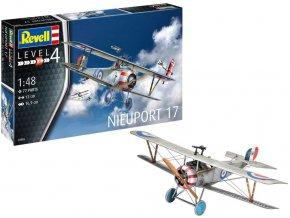 Revell - Nieuport 17, ModelSet 63885, 1/48