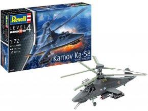 Revell - Kamov Ka-58 Stealth, ModelSet 63889, 1/72