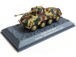 De Agostini - SdKfz.234/2 Puma, Wehrmacht, 21.Pz.Div., Normandie, 1944, 1/72