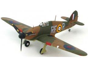 HobbyMaster - Hawker Hurricane Mk I, RAF, 303 Sqn.(polská), četař Josef František, bitva o Británii, 1/48