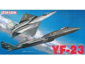 Dragon - Northrop/McDonnell Douglas YF-23, Model Kit 2507, 1/72