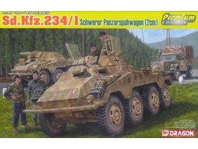 Dragon - Sd.Kfz.234/1 schwerer Panzerspähwagen (2cm), Model Kit 6879, 1/35