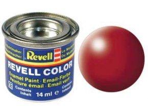 Revell - Barva emailová 14ml - hedvábná ohnivě rudá (fiery red silk), 32330