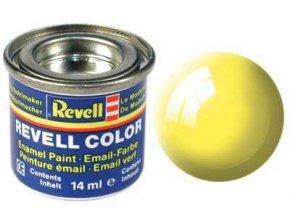 Revell - Barva emailová 14ml - č. 12 lesklá žlutá (yellow gloss), 32112