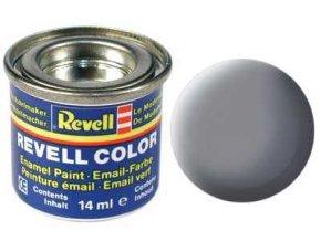 Revell - Barva emailová 14ml - matná myší šedá (mouse grey mat), 32147