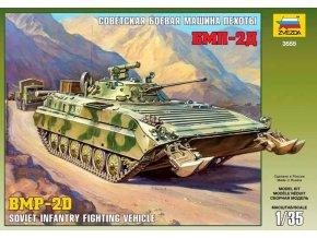 Zvezda - bojové vozidlo pěchoty BMP-2D / BVP-2D, Model Kit tank 3555, 1/35