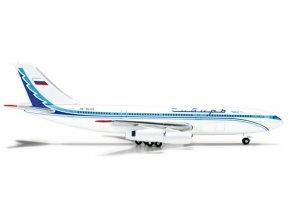 Herpa - Iljušin Il-86, dopravce Sibir Airlines, Rusko, 1/500