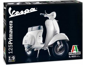 Italeri - Vespa PRIMAVERA 125, Model Kit 4633, 1/9