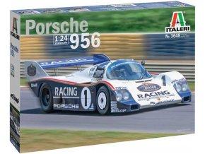Italeri - Porsche 956, Model Kit 3648, 1/24
