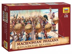 Zvezda - figurky makedonská falanga, IV. - I. stolení př. n. l., Wargames (AoB) 8019, 1/72