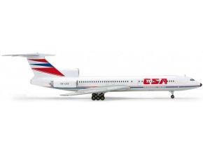 Herpa - Tupolev Tu-154M, dopravce Československé aerolinie ČSA, 1/200