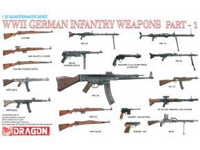 Dragon - Set německých pěchotních zbraní, druhá světová válka, Part I, Model Kit 3809, 1/35