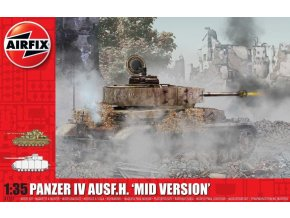 Airfix - Panzer IV Ausf. H, Mid Version, Classic Kit A1351, 1/35
