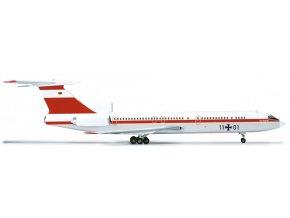 Herpa - Tupolev Tu-154M, dopravce Luftwaffe, Německo, 1/200