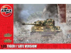Airfix - Pz.Kpfw.VI Tiger I., Late Version, Classic Kit A1364, 1/35