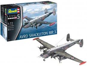 Revell - Avro Shackleton Mk.3, Modelkit 03873, 1/72