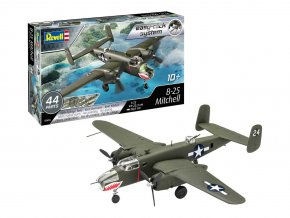 Revell - North American B-25 Mitchell, EasyClick ModelSet 63650, 1/72