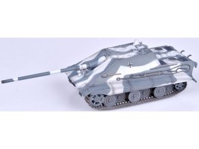 37509 0005694 german wwii e 50 jagdpanzer with 105mm gun winter camouflage 1946