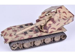 37507 0005677 german wwii waffentrager auf e 100 with 128mm gundesert camouflage 1946