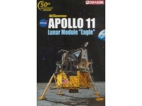 "Dragon - Apollo 11 lunární modul ""Eagle"", Model Kit Apollo 11008, 1/48"