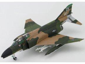 HobbyMaster - McDonnel Douglas F-4D Phantom II, USAF 8th TFW, Vietnam, 1972, signovaná edice, 1/72