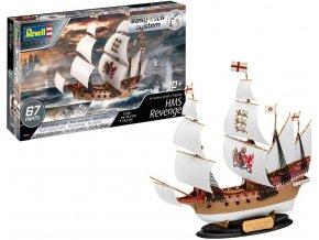 Revell - HMS Revenge, EasyClick 05661, 1/350