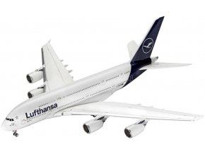 Revell - Airbus A380-800, Lufthansa, New Livery, Plastic ModelKit 03872, 1/144