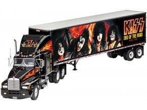 Revell - KISS Tour Truck, Gift-Set 07644, 1/32