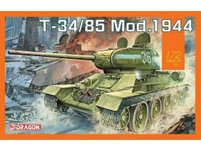Dragon - T-34/85 Mod.1944, Model Kit tank 7556, 1/72