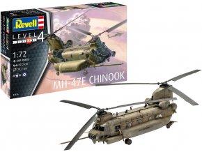 Revell - MH-47 Chinook, Plastic ModelKit 03876, 1/72