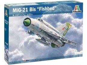 Italeri - Mikojan-Gurevič MiG-21 Bis ''Fishbed'', Model Kit 1427, 1/72