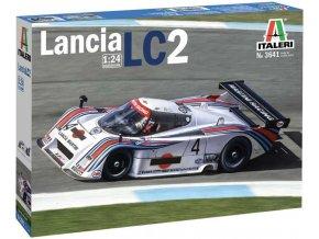 Italeri - Lancia LC2, Model Kit 3641, 1/24