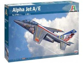 Italeri - Dassault/Dornier Alpha Jet A/E, Model Kit 2796, 1/48